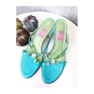 Lilly Pulitzer Heels Size 11